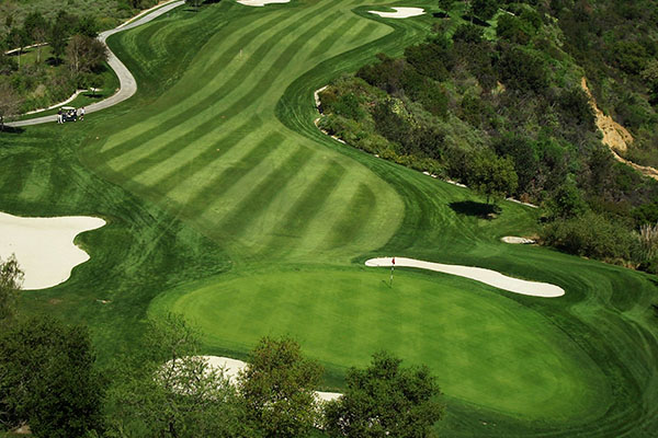 arial view of the course at Tijeras Creek Golf Club